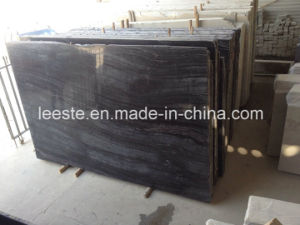 Black Marble Inca Wooden Black Polished Marble Sales Promotion pictures & photos