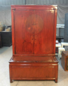 Antique Furniture Chinese Big Cabinet Lwa566 pictures & photos
