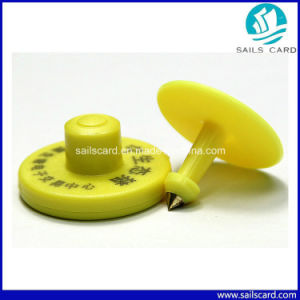 134.2kHz Fdx-B RFID Animal Ear Tag for Cattle Tacking pictures & photos