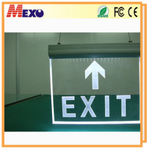 Acrylic Exit Sign Lighting LED Emergency Exit Sign pictures & photos