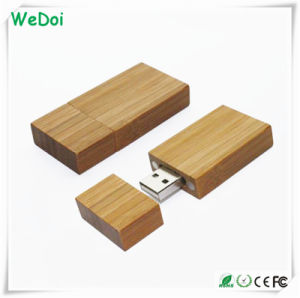 Hot Selling Wooden USB Stick with Large Imprint Size (WY-W14) pictures & photos