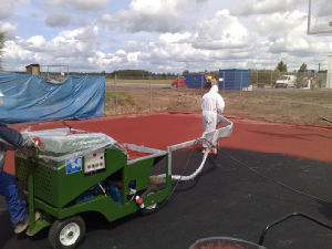 Sprayer Machine for Spray-Coat Running Track pictures & photos