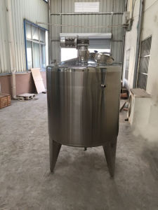 100L 2000L Steam Heating Milk Tank pictures & photos