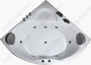 CE ISO9001 ABS Indoor Corner Massage Bathtub (CL-340) pictures & photos