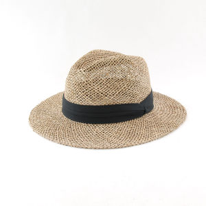Male Large Brim Straw Hat Panama Hats (CPA_60116) pictures & photos