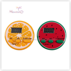 Plastic ABS Battery-Powered Electronic Kitchen Timer 5.0*5.0*2.3cm pictures & photos