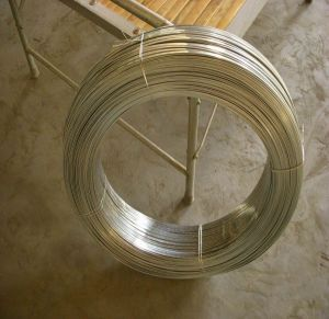 High Carbon Flat Galvanized Steel Wire pictures & photos