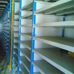 Powder Painted Warehouse Steel Shelf pictures & photos