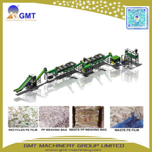 Waste PE PP Sheet Woven Bags Washing Recycling Extruder Line pictures & photos