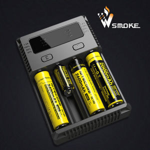 Authentic Nitecore I4 Charger Intellicharger Electronic Cigarette Battery Charger for 18650 18350 18490