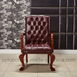 Vintage Style Wooden Leisure Chair with King Thrones Chair Shape (SP-HC059) pictures & photos