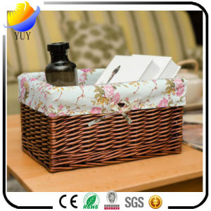 High Quality Hand Knitting Wicker Basket and Storage Box with Factory From China pictures & photos