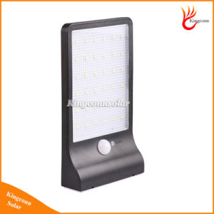 New 450lm 36 LED Solar Motion Sensor Light Bright 36LED Outdoor LED Solar Lamp Waterproof PIR Garden Wall Street Solar Lighting pictures & photos