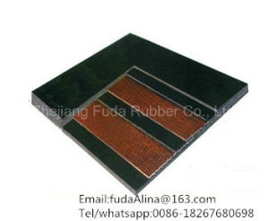 V Guide Cleated Chevron Rubber Conveyor Belt pictures & photos