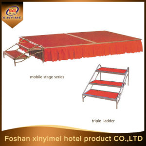 Manufacturers Black Carpet Wedding Mobile Stage pictures & photos