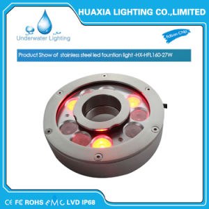 High Power 27W RGB DMX512 Control LED Fountain Ring Light pictures & photos