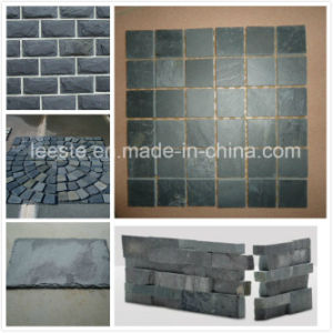 Chinese Natural Grey, Black Culture Slate Tile, Roofing Tiles pictures & photos