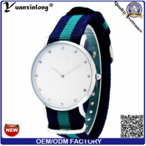 Yxl-216 New Arrival Vogue Nyloy Strap Watch Ladies Diamond Dress Fashion Watches Lady pictures & photos