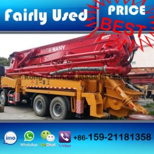 Slightly Used Sany Concrete Pump Truck 42m