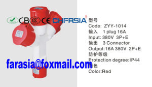 4p Multi Output Economic Industrial Socket Plug pictures & photos