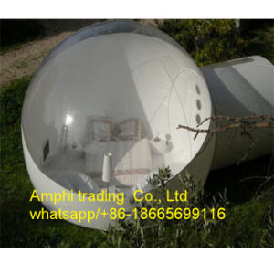 Outdoor Camping Inflatable Clear Air Dome Tent, Inflatable Bubble Lodge Tent