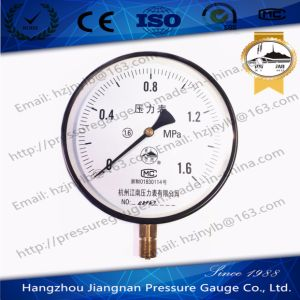 150mm Diameter General Pressure Gauge with 1.6MPa pictures & photos