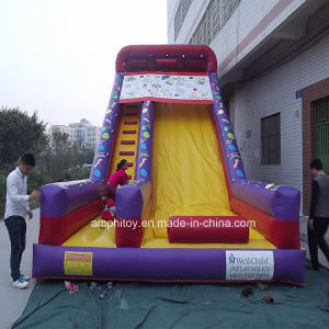 Inflatable Slide with Balloon