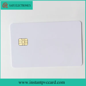 Glossy Inkjet Printable Sle4442 Chip PVC Card pictures & photos
