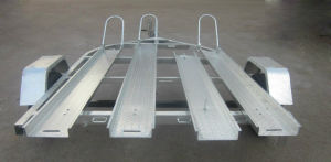 2016 Hot! Hot Dipped Galvanized Motorcycle Trailers pictures & photos