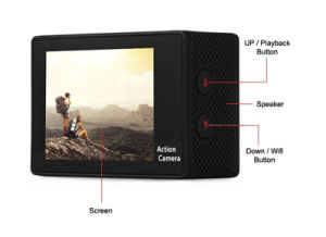 2 Inch TFT LCD WiFi Full HD 4k WiFi 1080P Waterproof Action Sport Camera pictures & photos