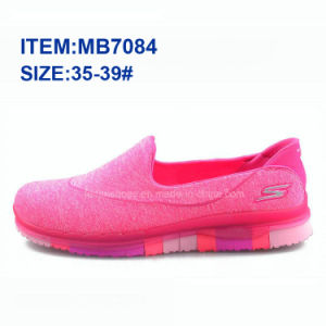 Latest Women Slip-on Sports Casual Shoes Walking Shoes Wholesale (MB7084) pictures & photos