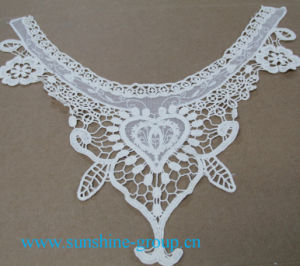 Fashion Design Embroidery Lace Mesh Patterns Neck Collar-037 pictures & photos