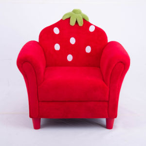 High Quality Strawberry Kids Sofa/Children Furntiure pictures & photos