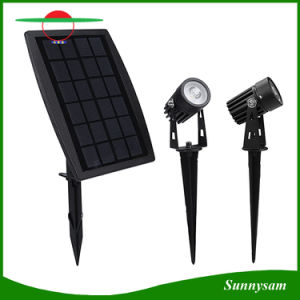 Outdoor Garden LED Solar Light Spike Lawn Pathway Lamp IP65 Waterproof Landscape Decorative Lighting Solar Spot Light pictures & photos