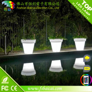 Outdoor Powered Home Balcony Flower Pot