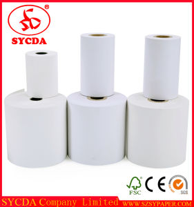 Cash Register Thermal Paper Roll 55g pictures & photos