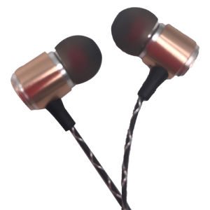 Gold High-End Earphone Headset pictures & photos