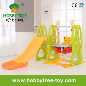 2017 Popular Kids Indoor Mini Play Equipment with Slide (HBS17025E)