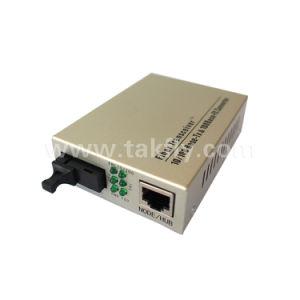 10/100base-Tx to 100base-Fx Singlemode Duplex Sc Unmanaged Fiber Media Converter pictures & photos