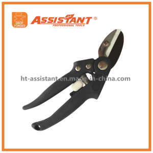 PTFE Coated Garden Cliper Loppers Secateurs Trimmer Anvil Garden Shears pictures & photos