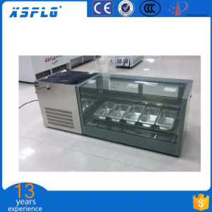 Desk Type Ice Cream Display Cabinet/Gelato Showcase pictures & photos