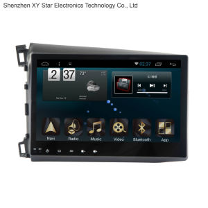 Android 6.0 System 10.1 Inch Big Screen GPS Navigation for Honda Civic 2012 pictures & photos