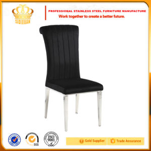 Factory Wholesale Durable Stainless Steel Hotel and Restaurant Banquet Chair pictures & photos