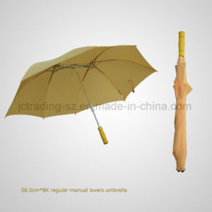Lovers Manual Straight Rain/Sun Umbrella (JL-MQT109) pictures & photos