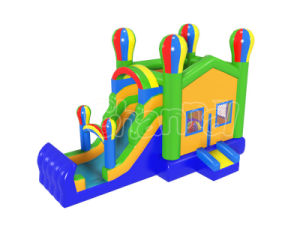 Colorful Inflatable Balloon Jumping Bouncer Combo for Children Chb1120 pictures & photos