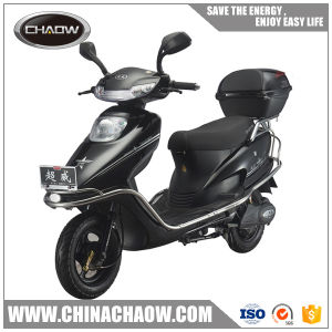 Black 60V-800W Two Wheel Electric Vehicle/Electric Motorcycle pictures & photos