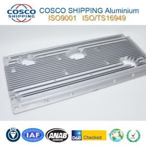 Aluminium Anodized Heatsink with CNC Machining by ISO9001: 2008 Certificated pictures & photos