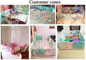 New Indoor Playground Kid Toy Baby Toy Ocean Fence Plastic Children Fence pictures & photos