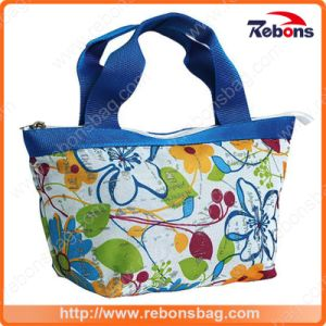 Portable Fashion Colorful Flower Printing Tote Bags pictures & photos