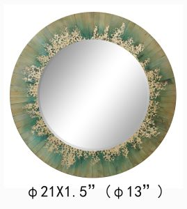 China Made 100% Handpainted Metallic Gold Foil Mirror for Home Decortion(Item#611701101 pictures & photos